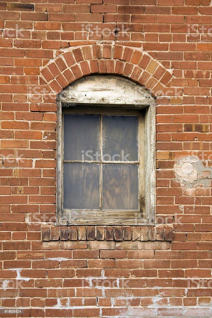 Bricked Window royalty-free stock photo