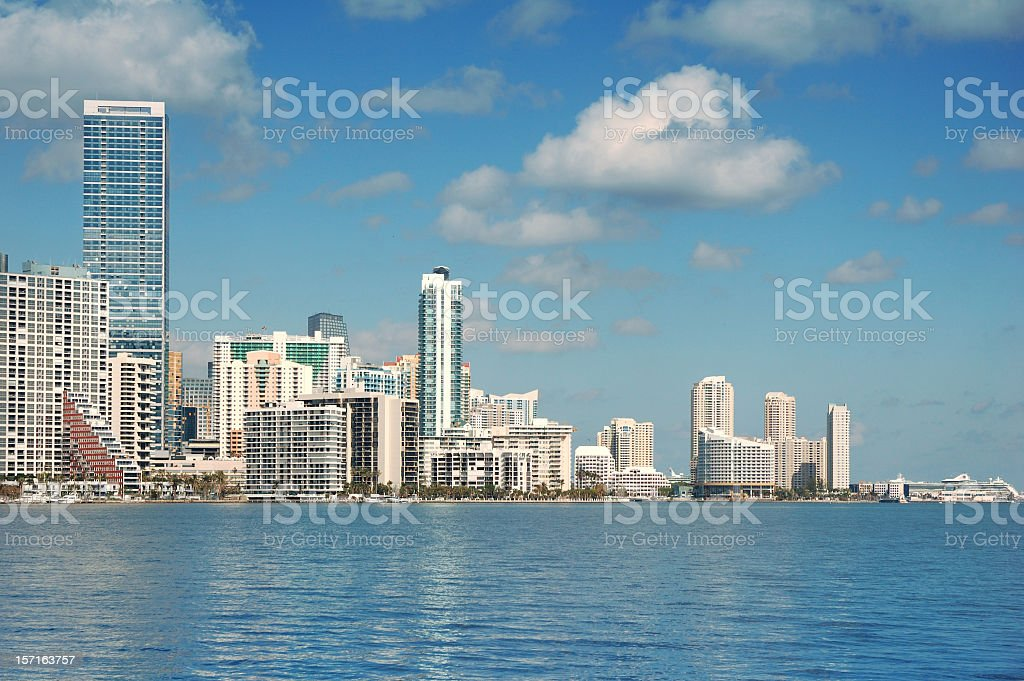 brickel from biscayne stock photo