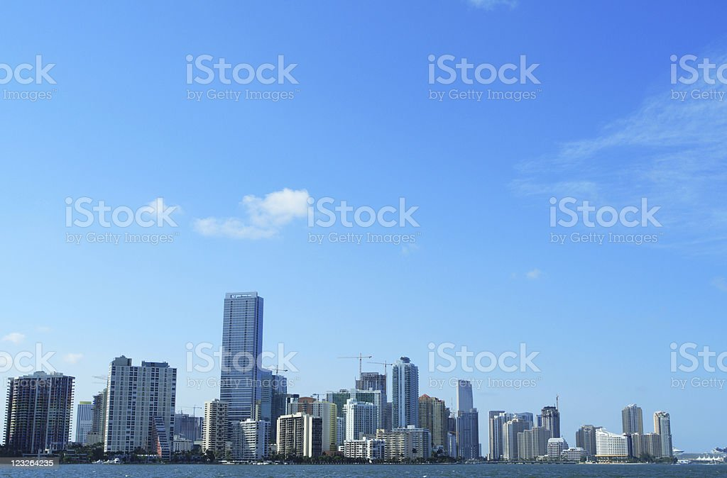 Brickell Miami royalty-free stock photo