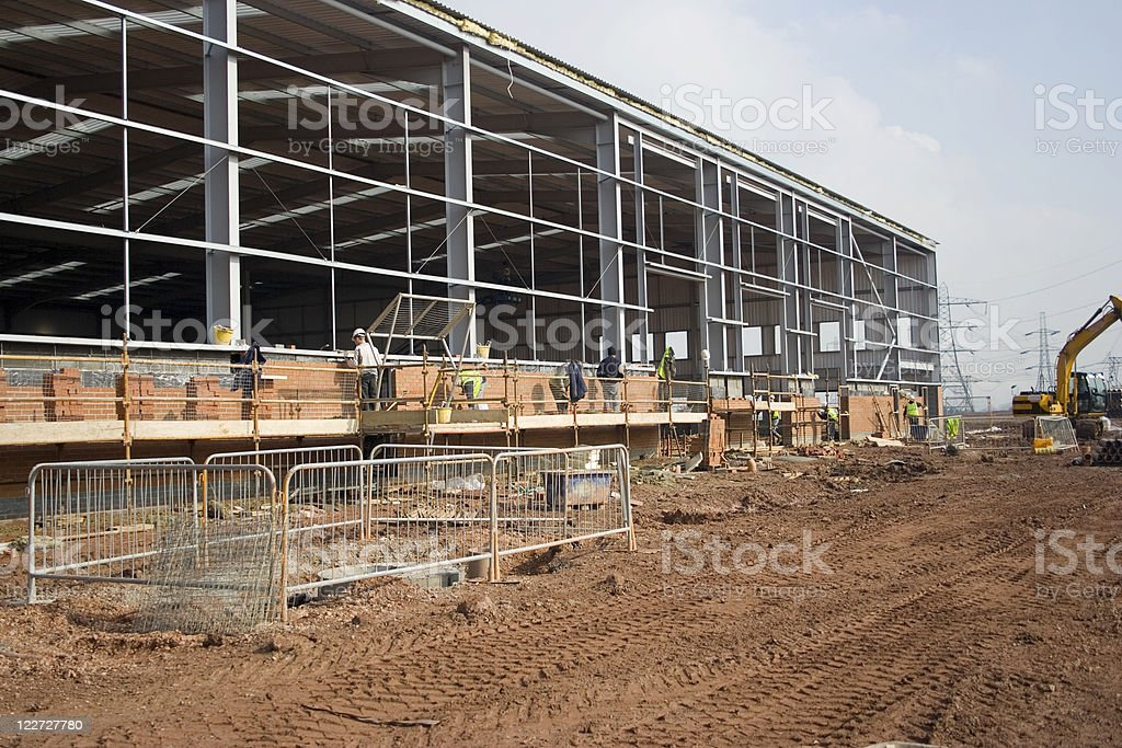 Bricklayers royalty-free stock photo