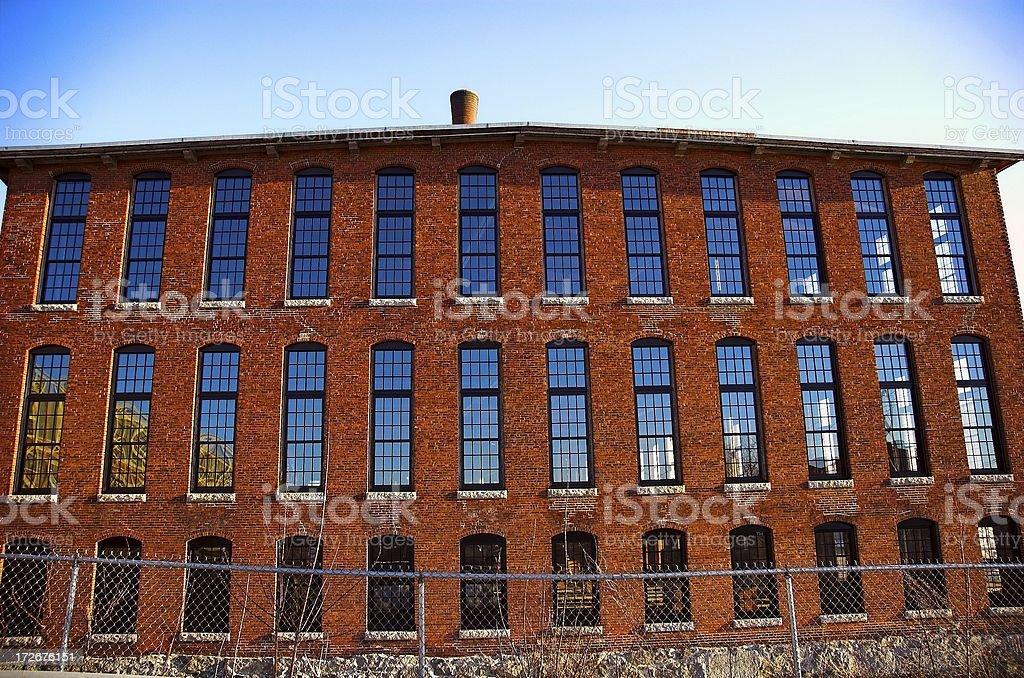 bricks and glass royalty-free stock photo