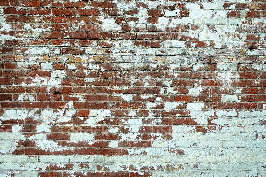 bricks and paint royalty-free stock photo