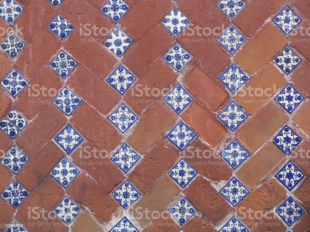 Bricks and tiles royalty-free stock photo