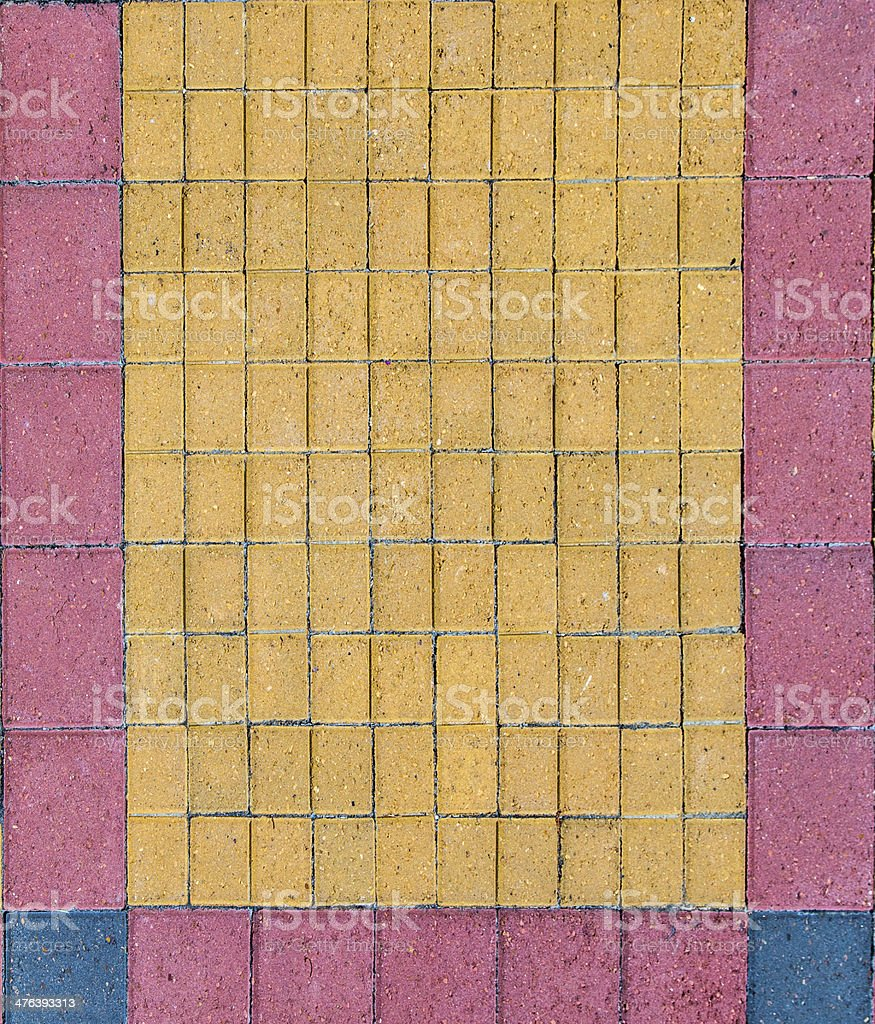 bricks at the floor royalty-free stock photo