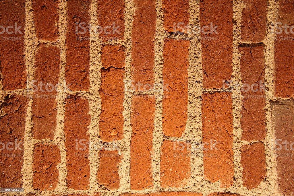 Bricks in vertical royalty-free stock photo