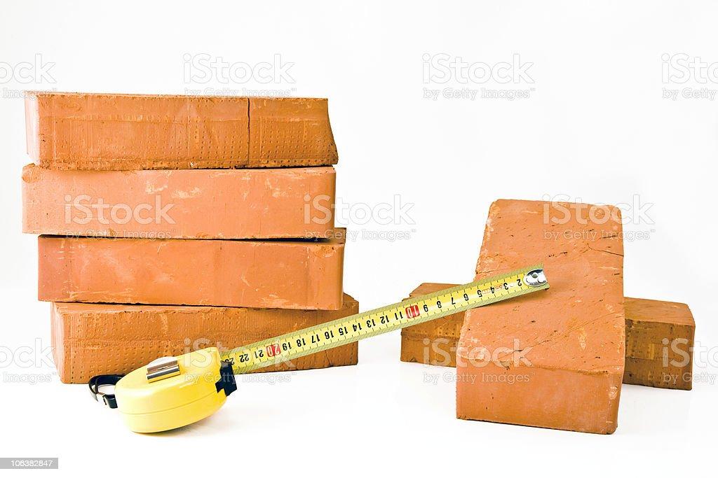 Bricks royalty-free stock photo