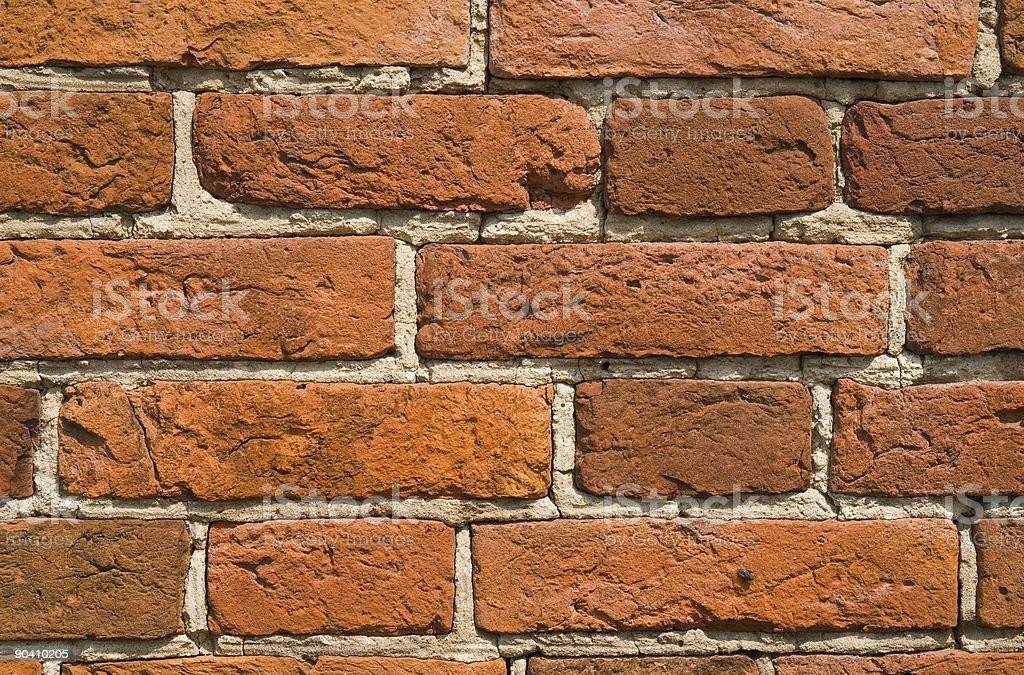 Bricks wall background royalty-free stock photo