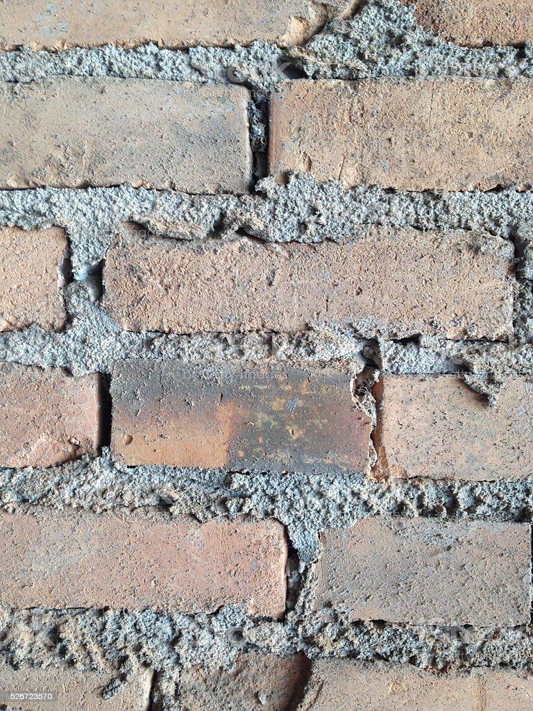 Bricks'mur photo libre de droits