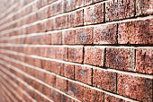 Brick/tile wall perspective
