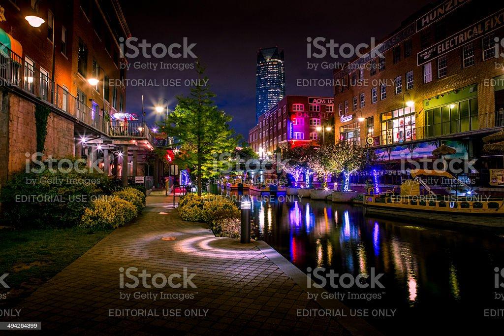Bricktown stock photo