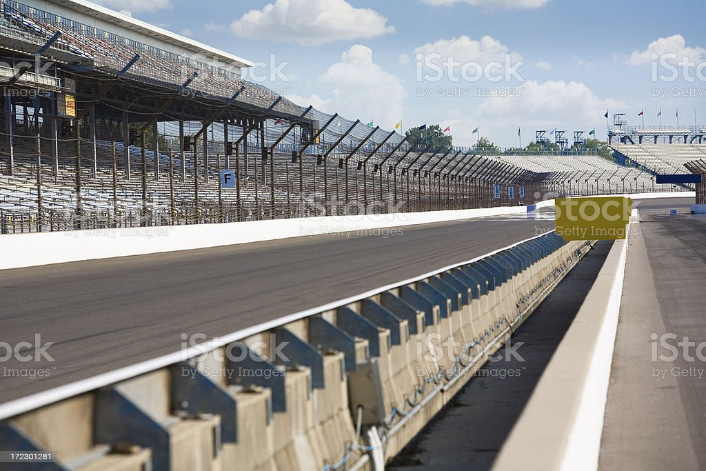 Brickyard 400 Track stock photo