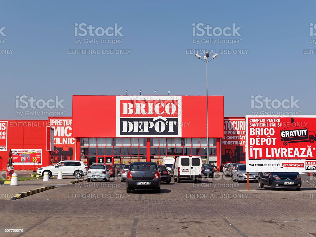 brico depot store in focsani romania royaltyfree stock photo with cuisine amnage brico depot. Black Bedroom Furniture Sets. Home Design Ideas