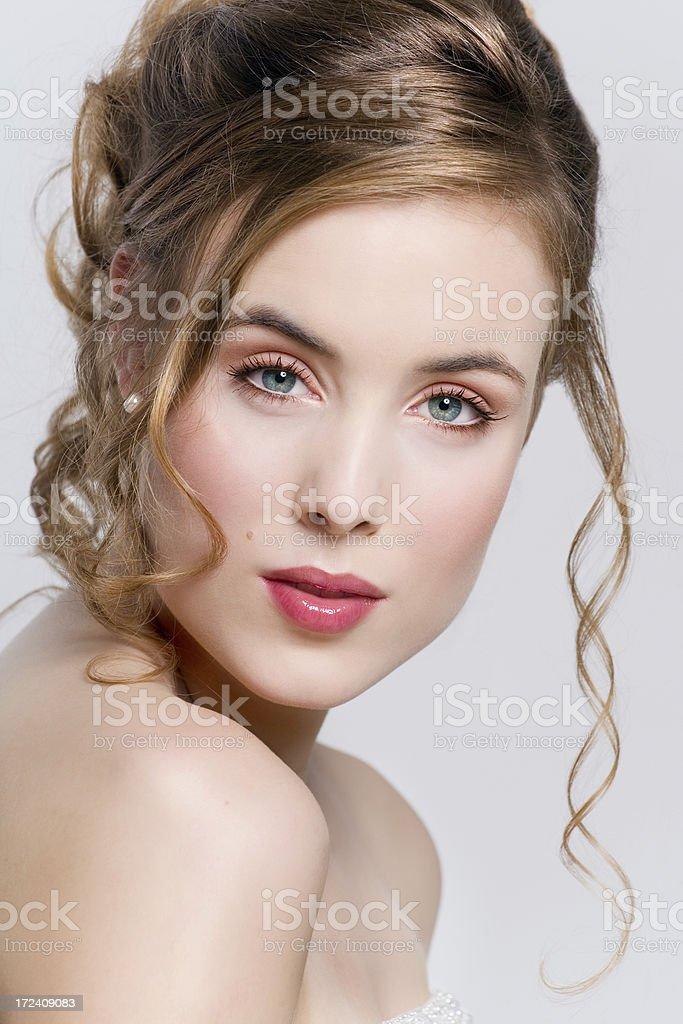 Bridal Beauty royalty-free stock photo