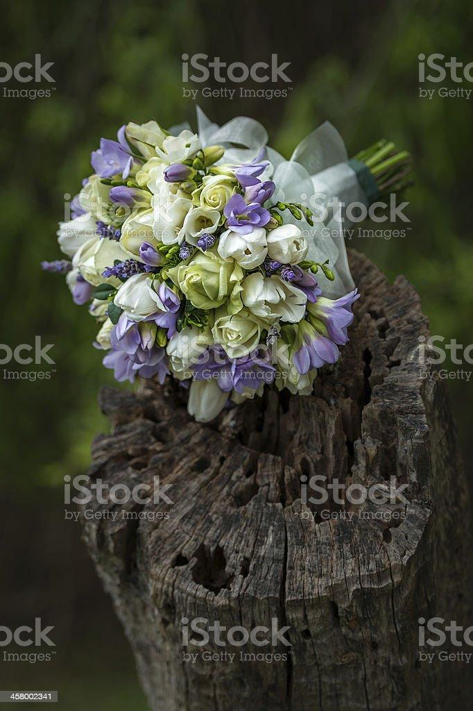 Buquê da noiva foto royalty-free