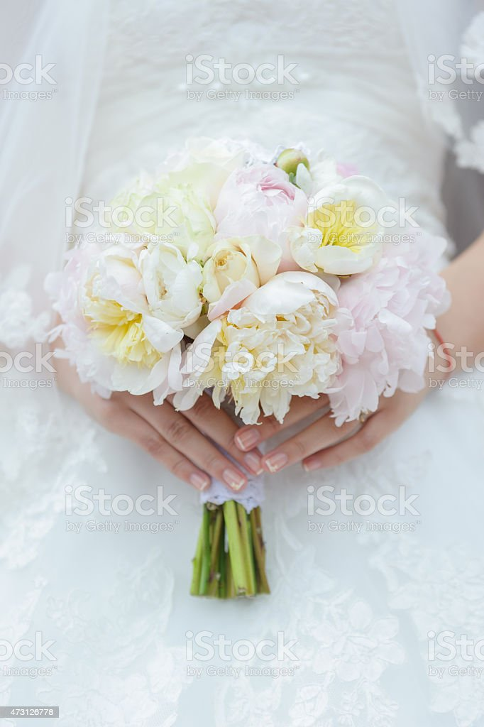 Bridal bouquet royalty-free stock photo