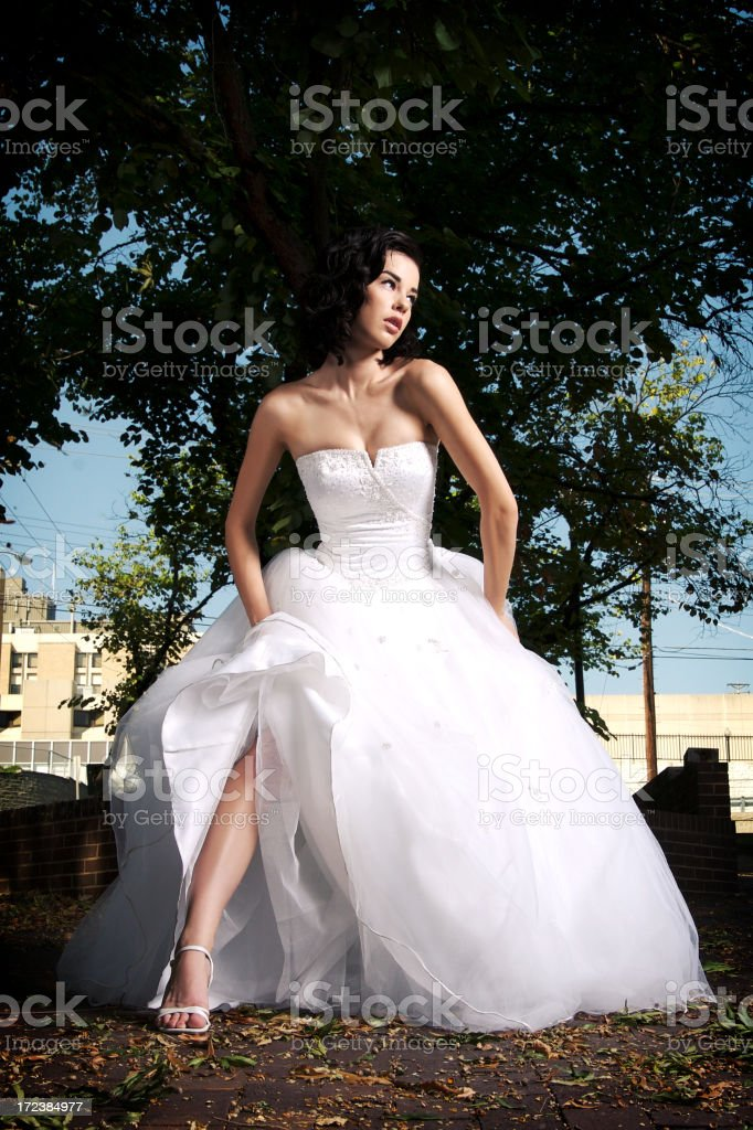 Bridal Couture royalty-free stock photo