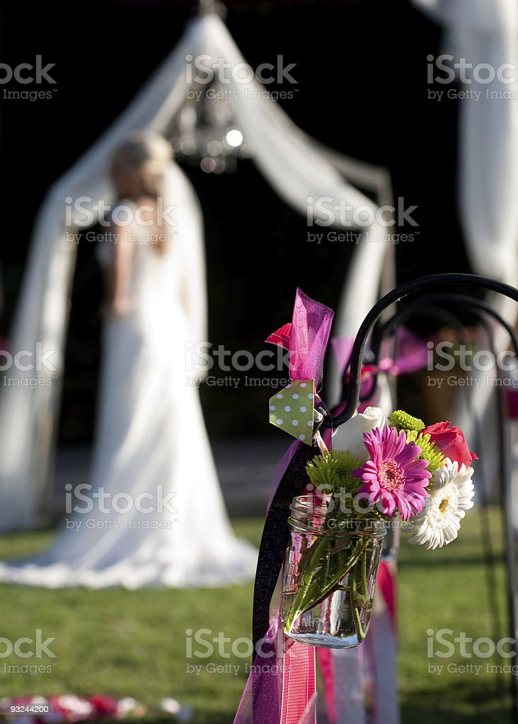 Bridal Decorations royalty-free stock photo