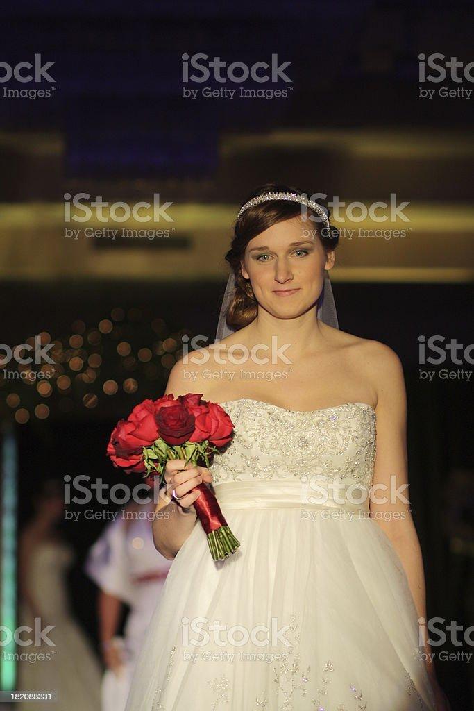 Bridal Fashion Show royalty-free stock photo