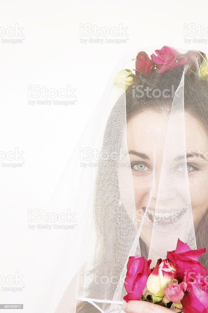 Bridal Fun stock photo