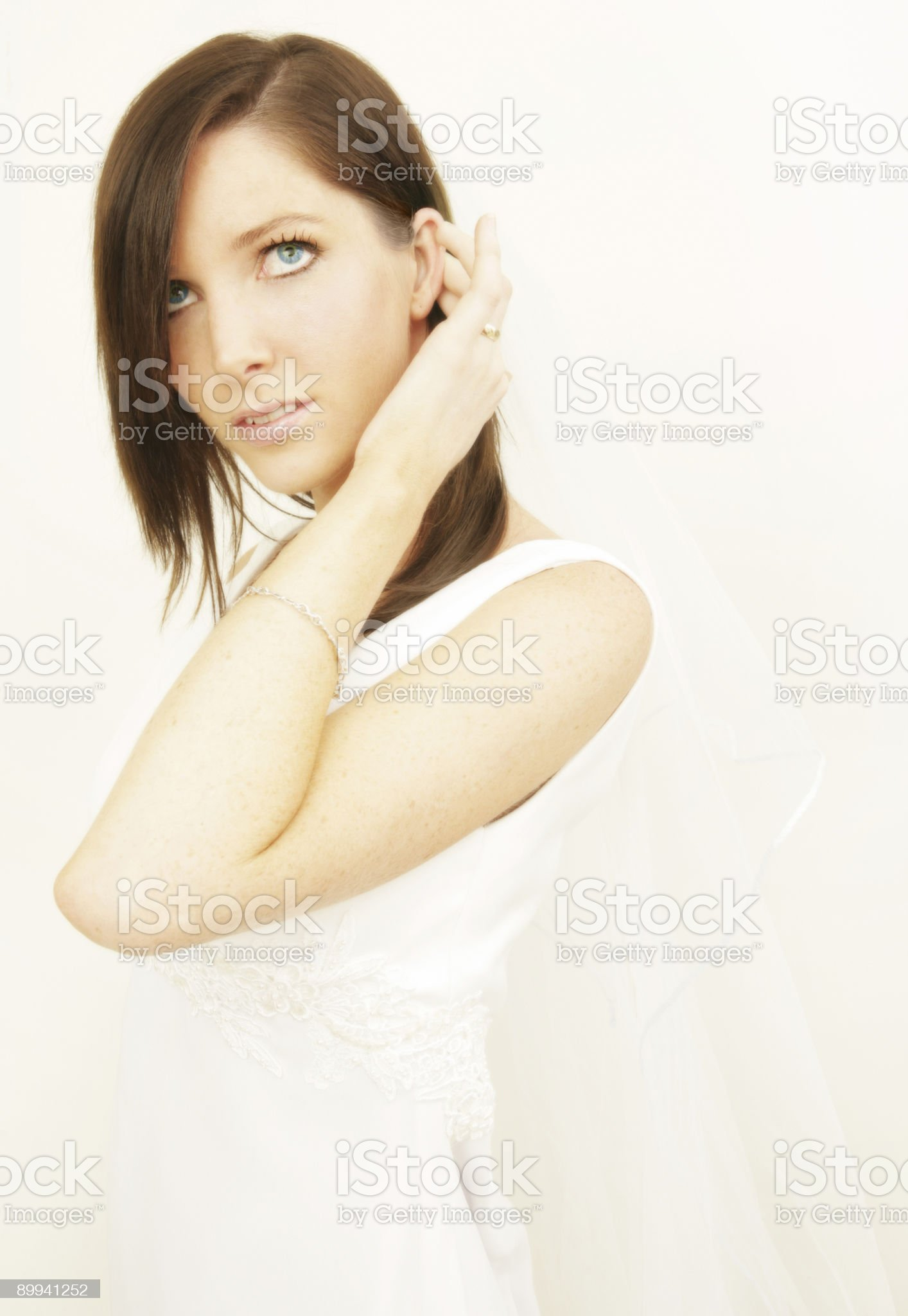 Bridal Hope royalty-free stock photo