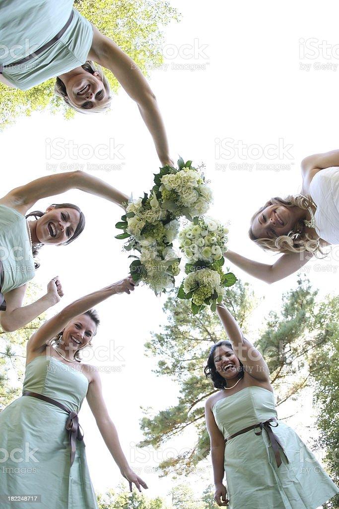 Bridal patry royalty-free stock photo