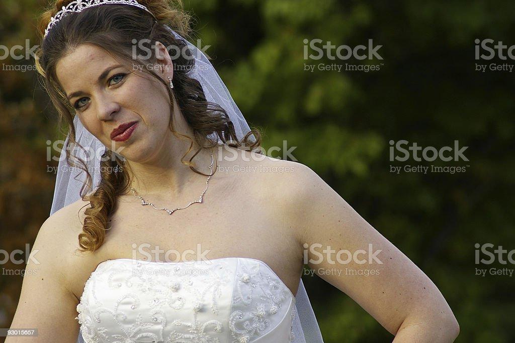 bridal royalty-free stock photo
