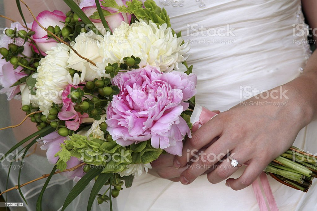 Bridal Series royalty-free stock photo