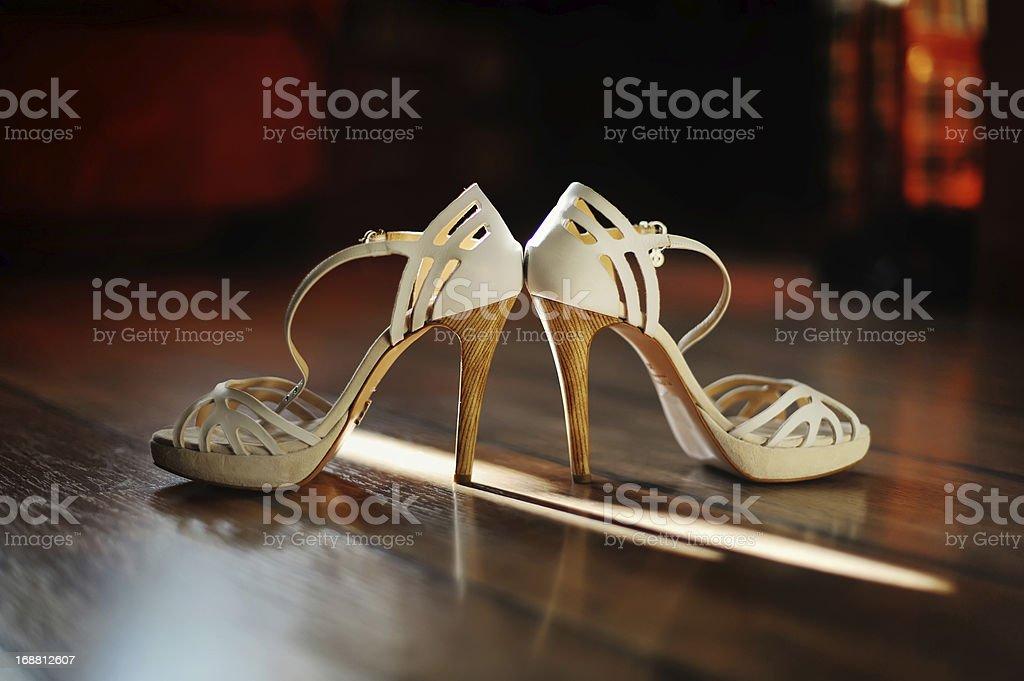 Bridal Shoes royalty-free stock photo