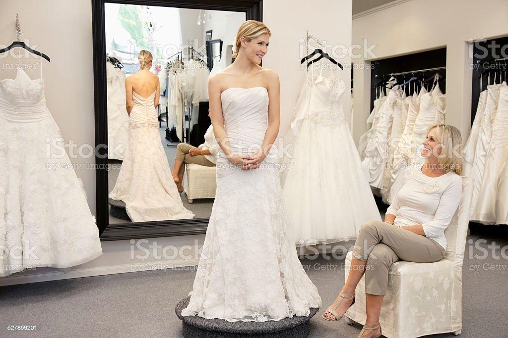 Bridal Store stock photo
