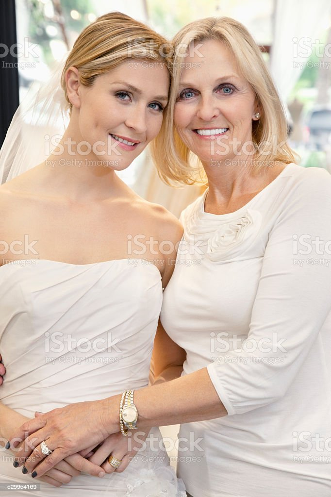 Bridal Store stock photo