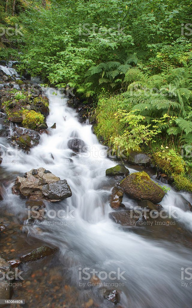 Bridal Veil Falls, Lower section royalty-free stock photo
