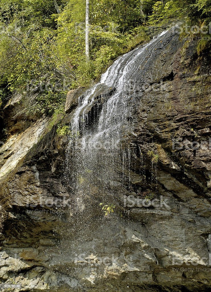 bridal veil falls royalty-free stock photo