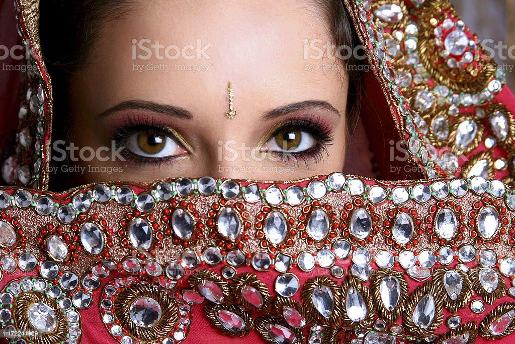 Bridal Veil - Zaina stock photo