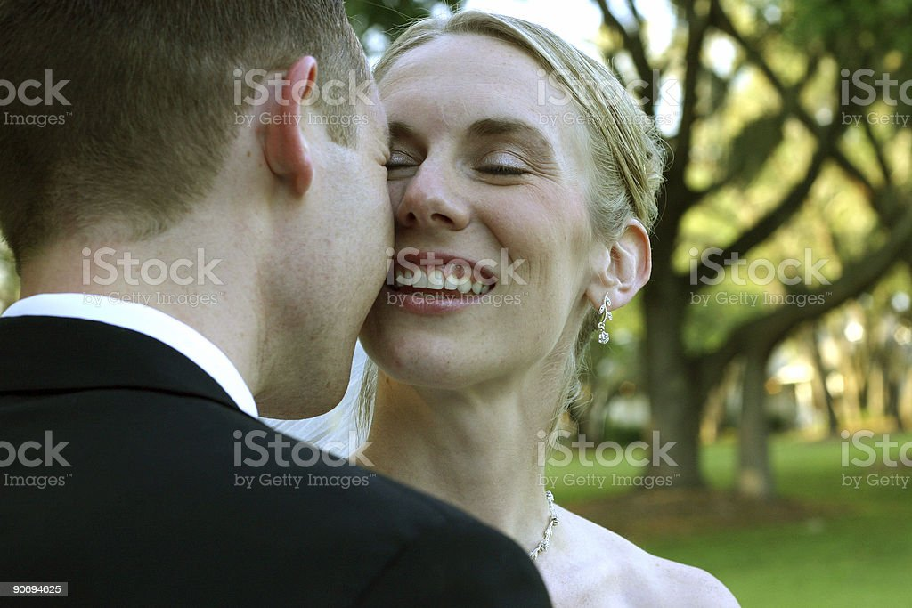 Bride and Groom 2 royalty-free stock photo