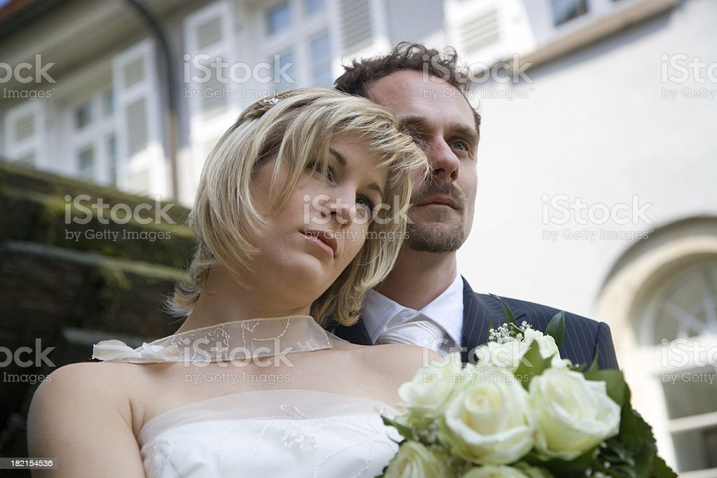bride and groom series 2 royalty-free stock photo