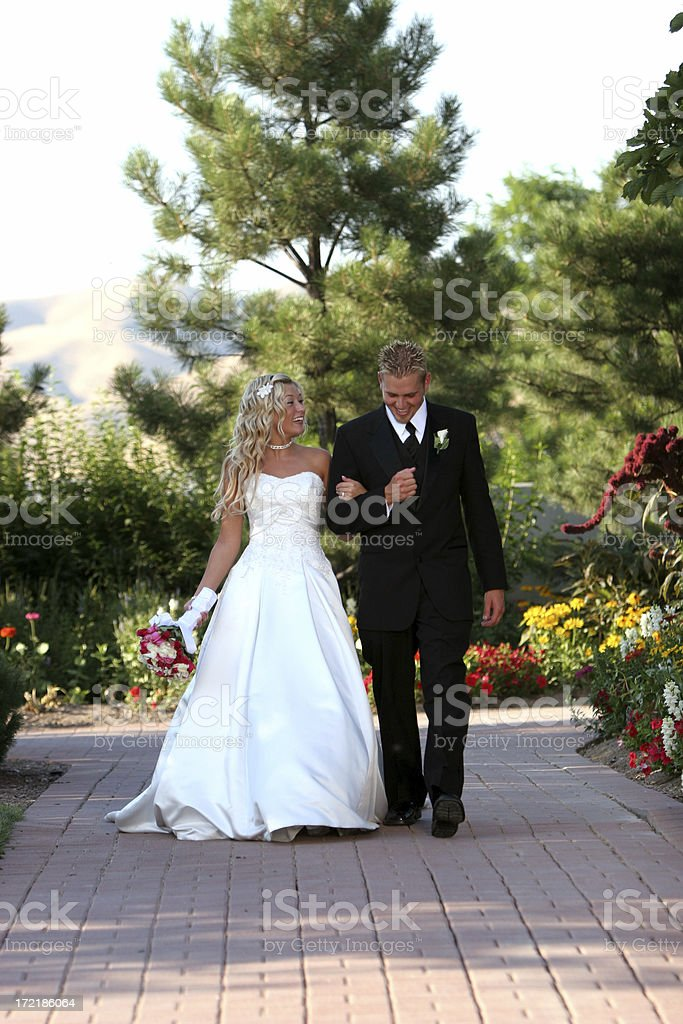 bride and groom_3 royalty-free stock photo