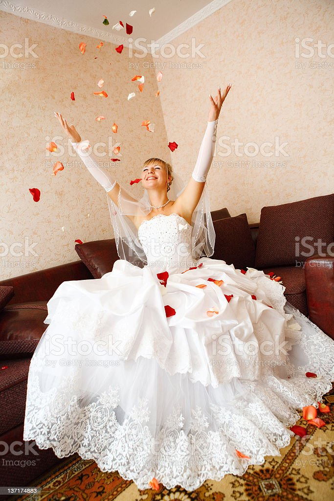 bride and petails royalty-free stock photo
