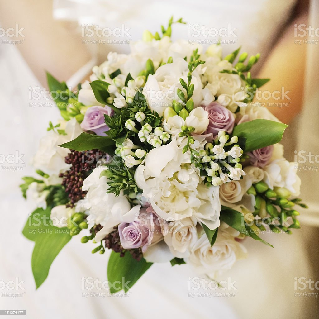 bride bouquet royalty-free stock photo