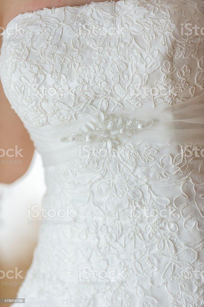 Bride dress royalty-free stock photo