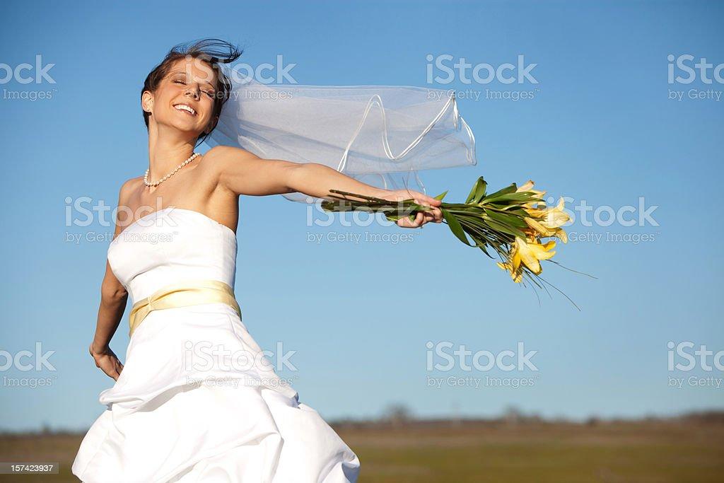 Bride of Freedom royalty-free stock photo