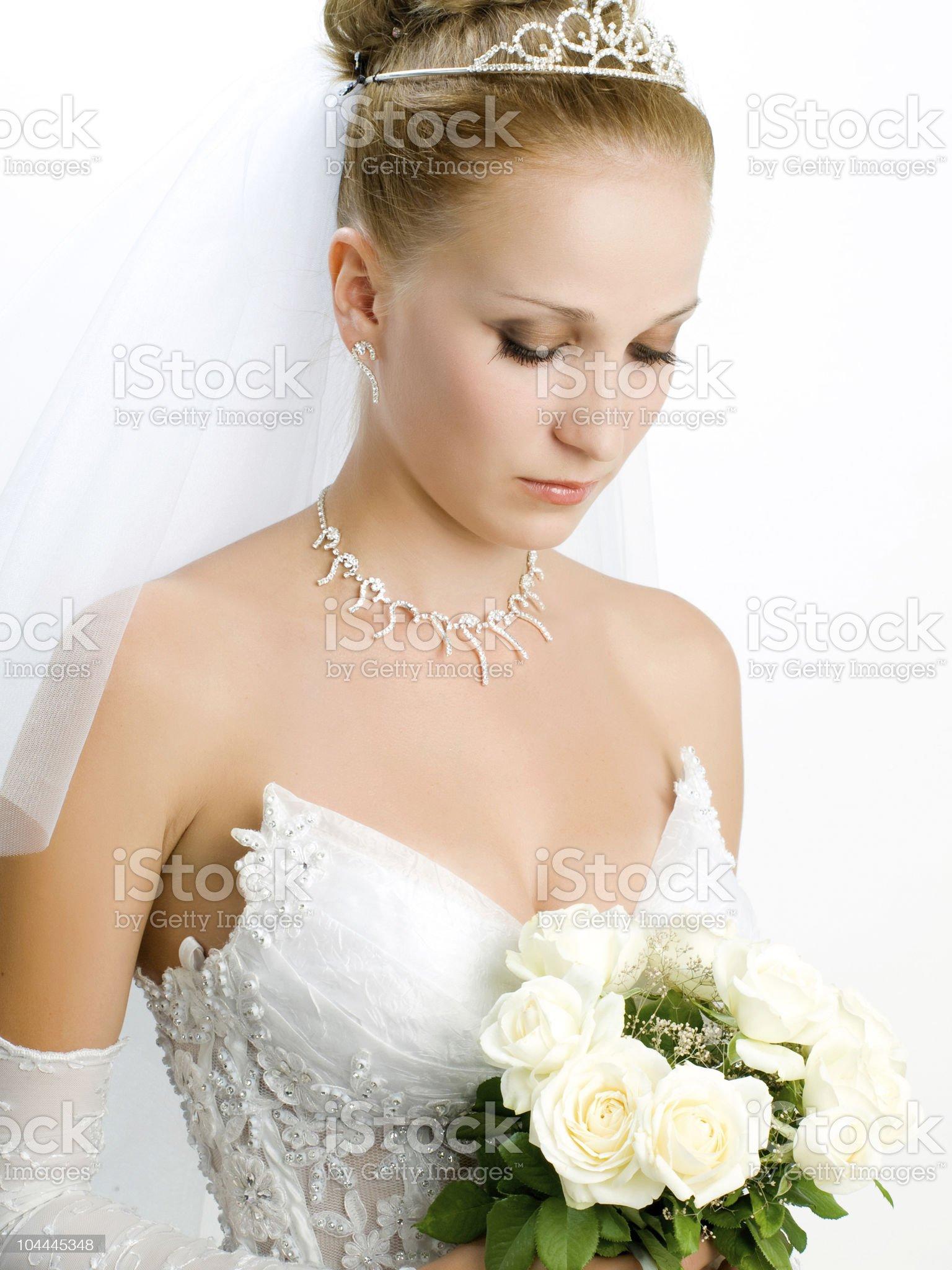 bride portrait royalty-free stock photo