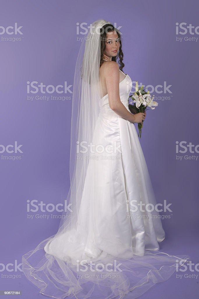 Bride - studio royalty-free stock photo
