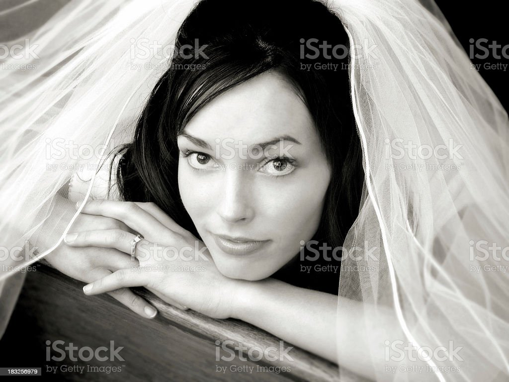 Bride To Be royalty-free stock photo