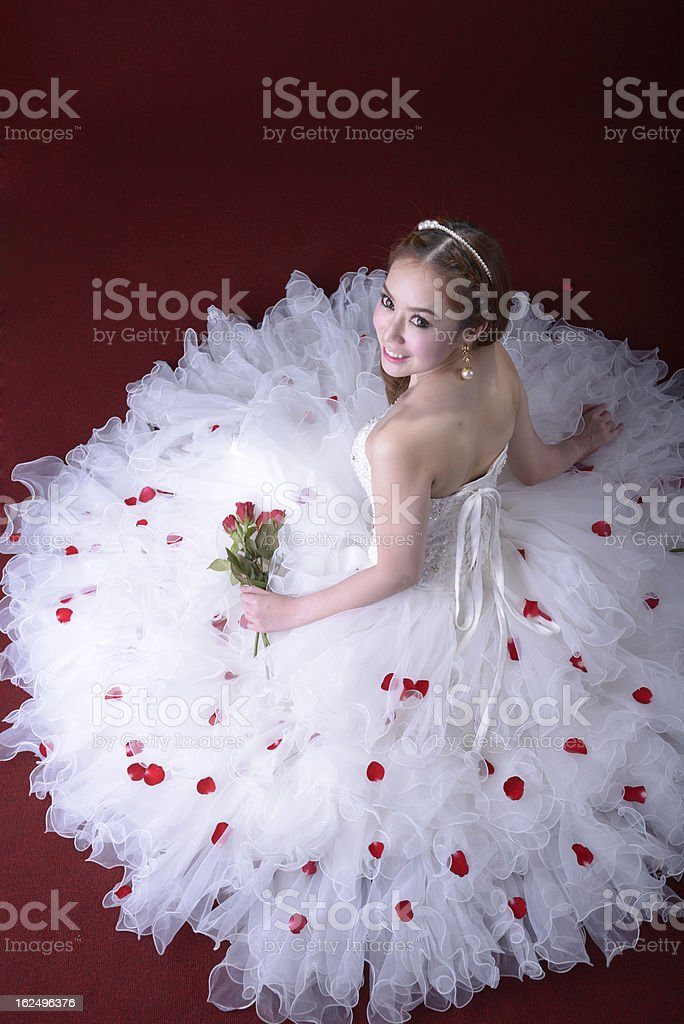 Bride Wedding royalty-free stock photo