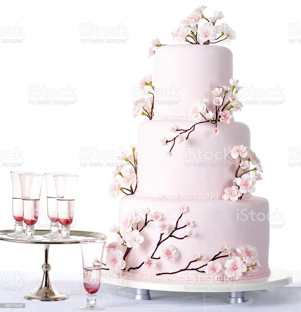 Bridecake royalty-free stock photo