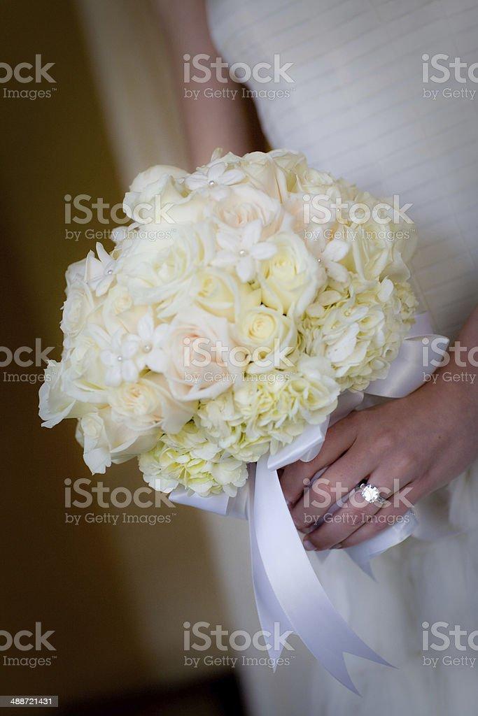 Bride's Bouquet 2 stock photo
