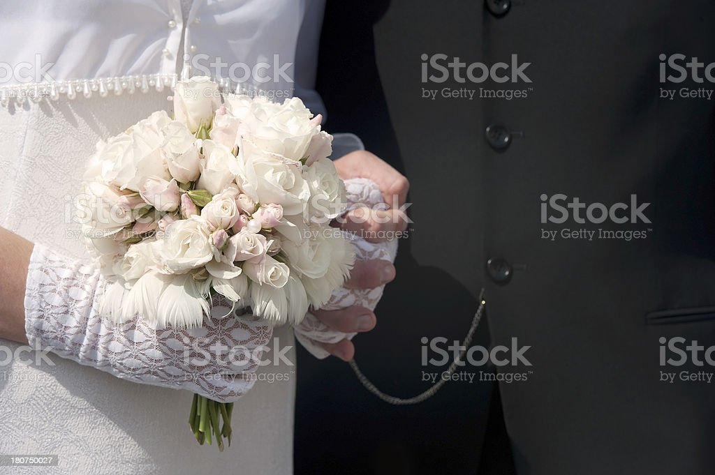 Bride`s Bouquet royalty-free stock photo