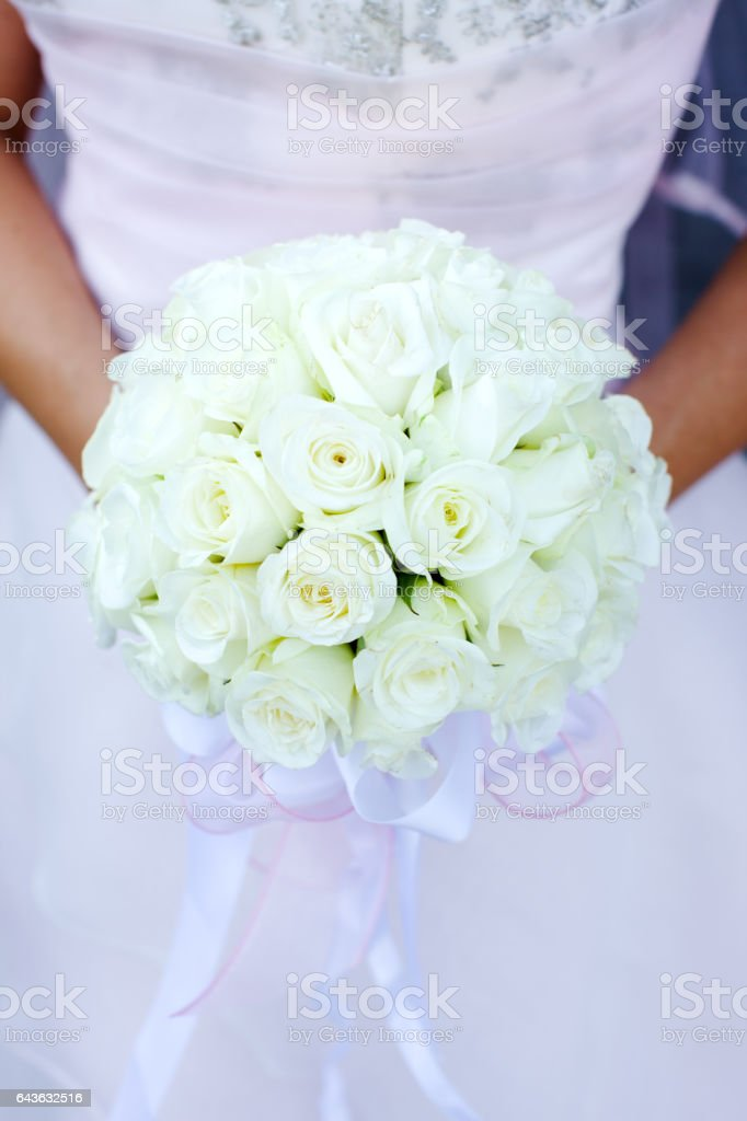 Bride's bouquet stock photo