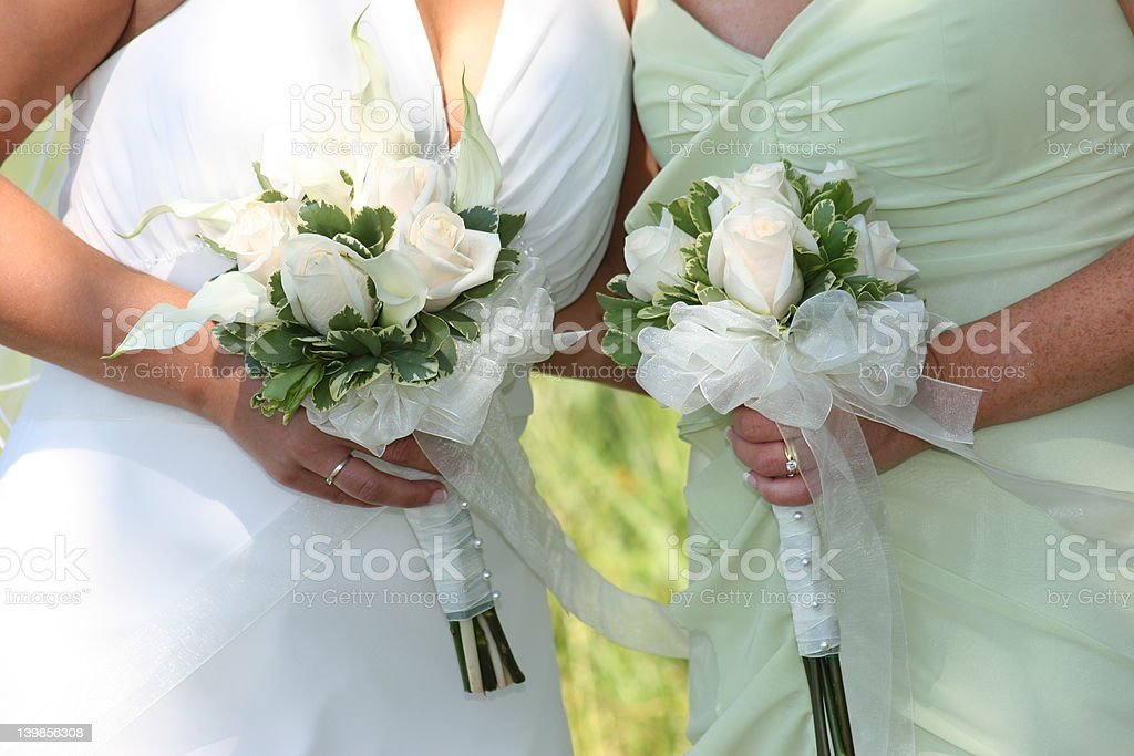 Bride's Maid royalty-free stock photo
