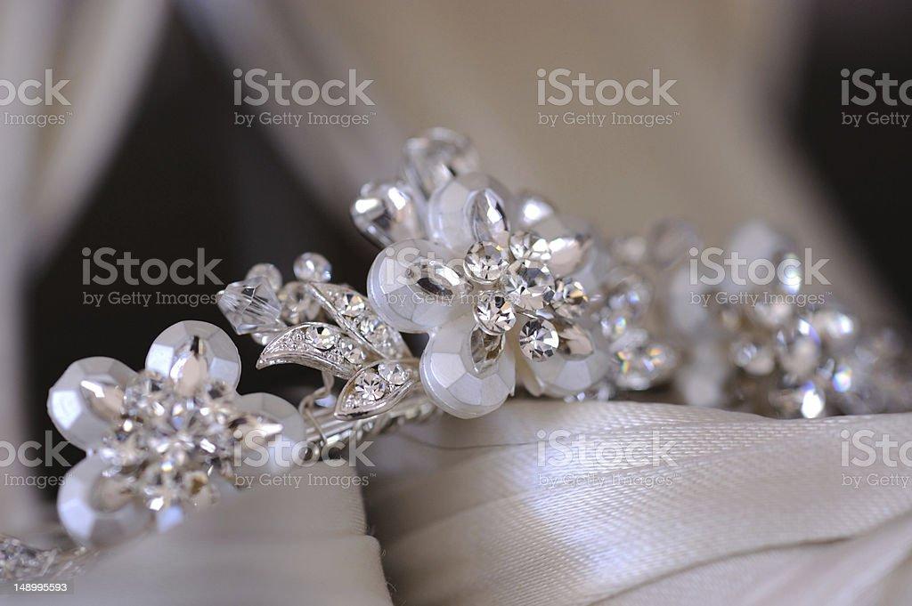 Brides tiara royalty-free stock photo